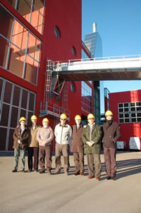 Argentinian delegation visits waste-to-energy plant
