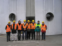 Argentinian delegation visits the San Carlo di Cesena biodigester plant