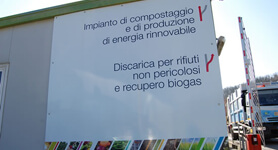 Cesena anaerobic digestion and composting plant