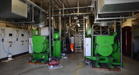 Voltana (Lugo) anaerobic digestion and composting plant